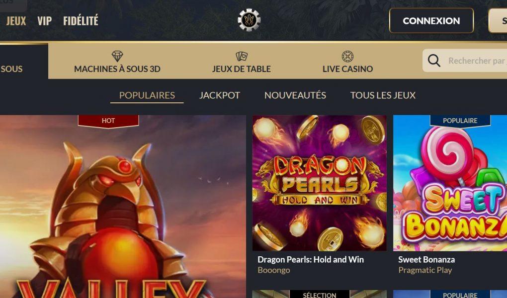 jeux tortuga casino